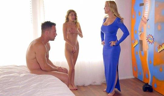 Мамка зашла в спальню и научила дочь с женихом кайфовать от ...