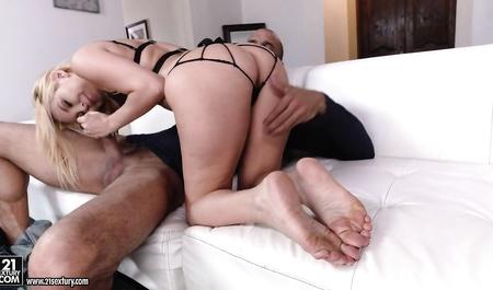 Долговязый порно