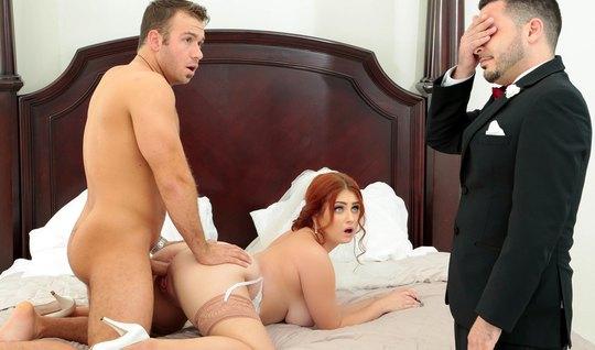 Невеста в порно аш ди